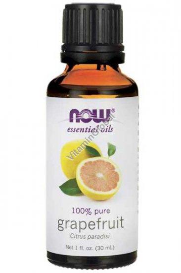 Масло грейпфрута 30 мл - Now Essential Oils
