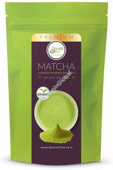 Органический зеленый японский чай Матча в порошке 50 гр - Daniels Tea