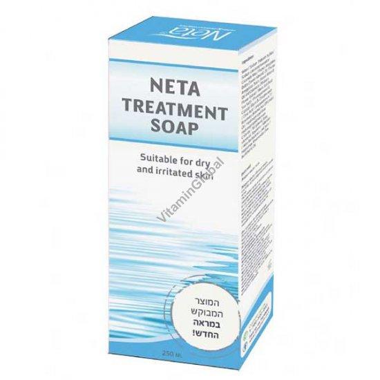 Жидкое лечебное мыло для раздраженной и сухой кожи 250 мл - Neta