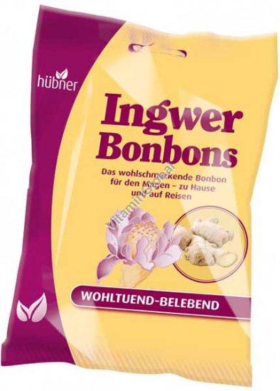 Леденцы со вкусом имбиря 69 гр - Hubner