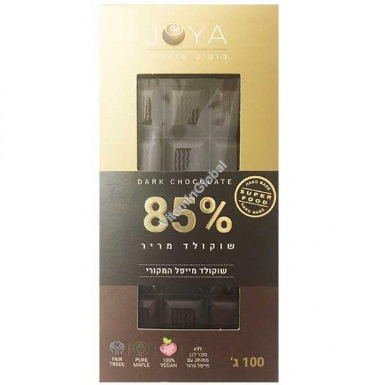 Горький шоколад ручной работы 85% какао 100 гр - Joya