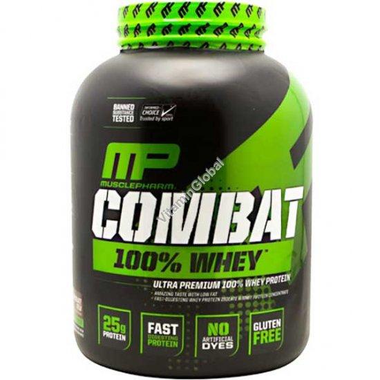 Комбат - ультра премиум сывороточный протеин вкус ванильный 2.269 кг - Muscle Pharm