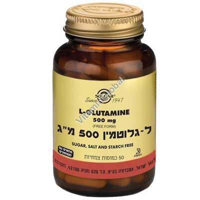 Л-Глютамин 500 мг 50 капсул - Солгар
