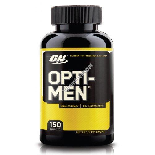 Мультивитамин для мужчин Opti-Men 150 таблеток - Optimum Nutrition