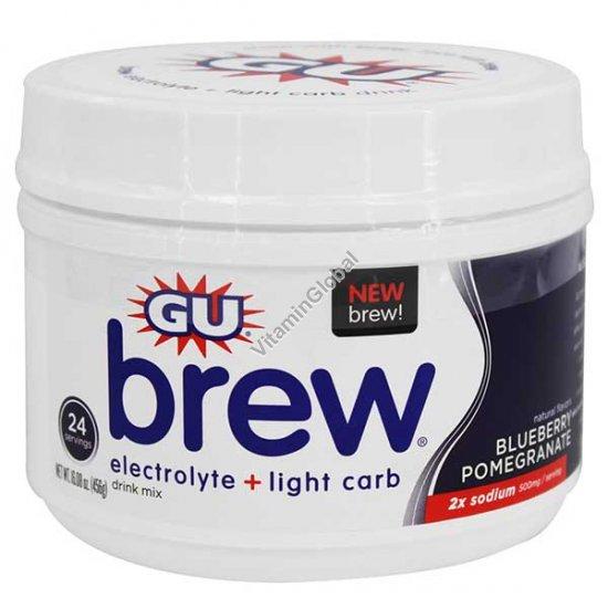 Изотонический напиток в порошке черника и гранат 456 гр - GU