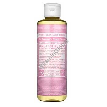 Натуральное жидкое мыло вишневое цветение 472 мл - Dr. Bronner