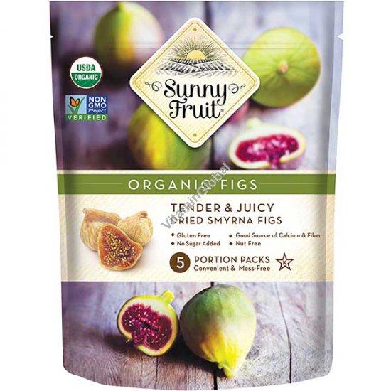 Органический сушеный на солнце инжир 250 гр (5 порционных упаковок) - Sunny Fruit