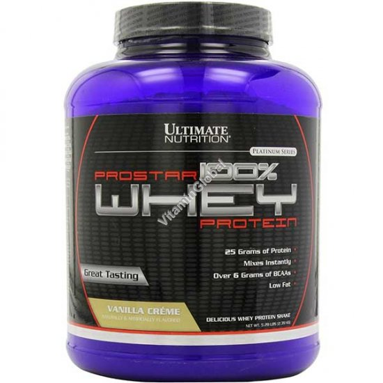 ProStar Whey Protein вкус ванили 2.39 кг - Ultimate Nutrition
