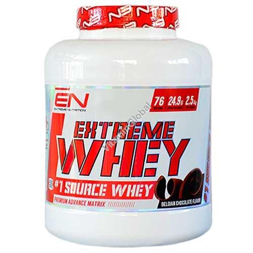 Сывороточный протеин со вкусом бельгийского шоколада 2 кг - Extreme Nutrition