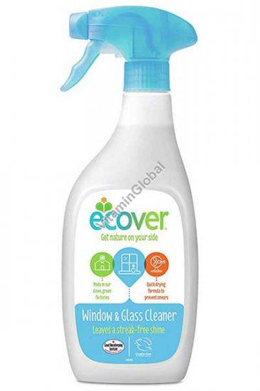 Эко жидкость для чистки окон и стекла 500 мл - Эковер