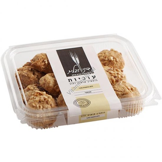 Печенье без сахара, из цельнозерновой спельтовой муки с кокосом и лесными орехами 230 гр - Дани и Галит