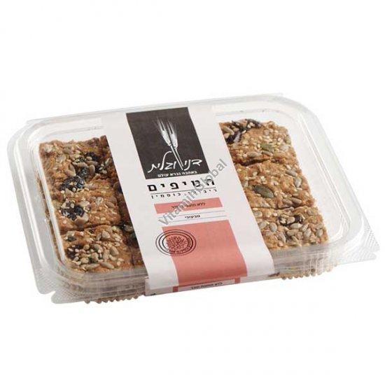 Печенье гранола без сахара, из цельнозерновой спельтовой муки 230 гр - Дани и Галит