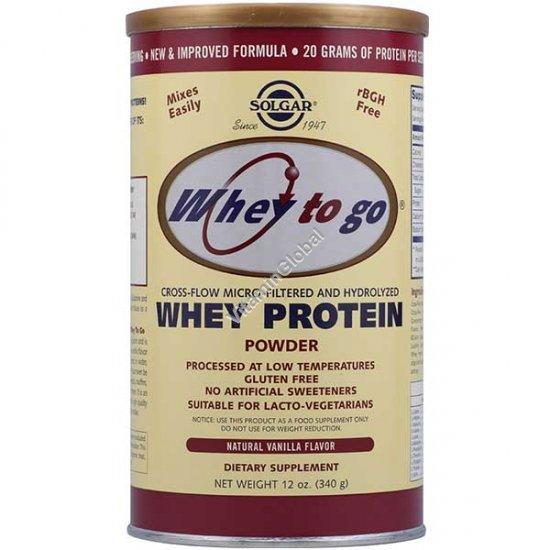 Сывороточный протеин со вкусом ванили 340 гр - Солгар