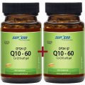 Коэнзим Q10 60 мг 120 (60+60) мягких капсул - SupHerb