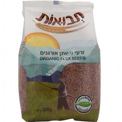 Органическое льняное семя 500 гр - Tvuot