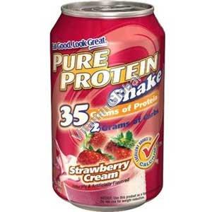 Протеиновый напиток с клубничным вкусом 325 мл - Worldwide