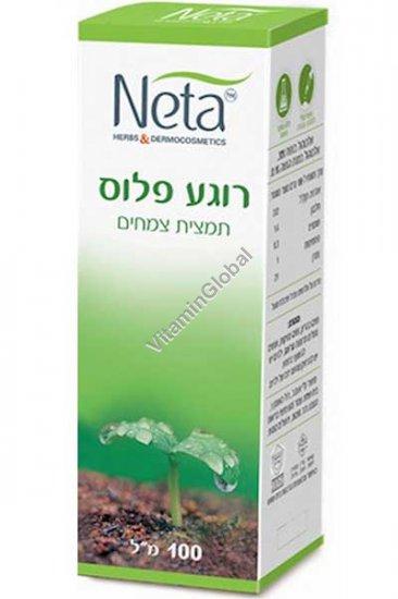 Успокаивающие капли на основе растительных экстрактов 100 мл - Нета