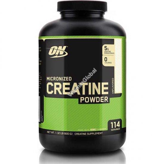 Креатин моногидрат 600 гр - Optimum Nutrition