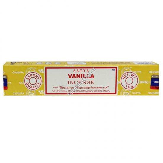 Индийские благовония ваниль 15 гр - Satya