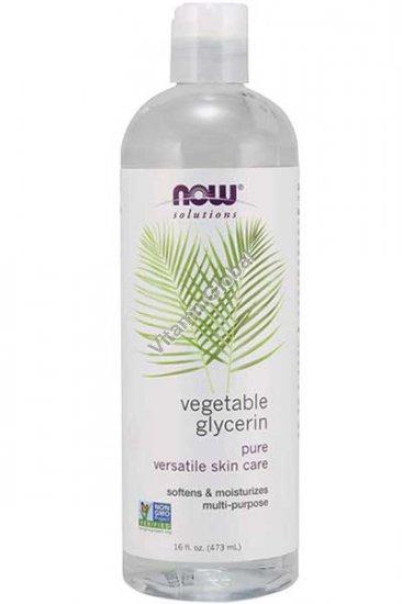 Растительный глицерин 473 мл - Now Solutions