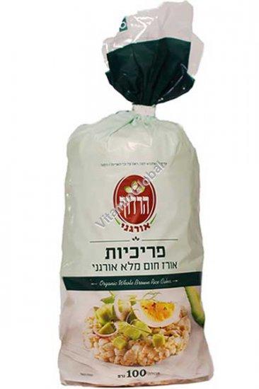 Органические хлебцы из цельного риса 100 гр - Хардуф