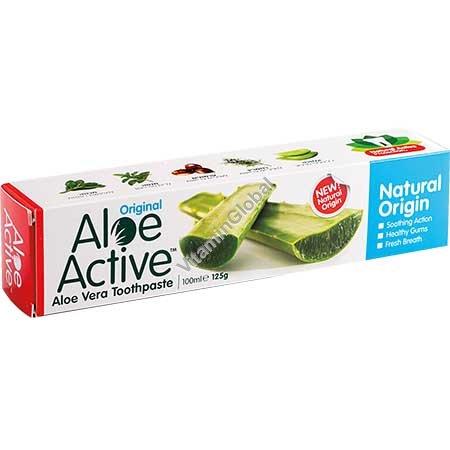 Натуральная зубная паста с алоэ вера 100 мл - Aloe Active