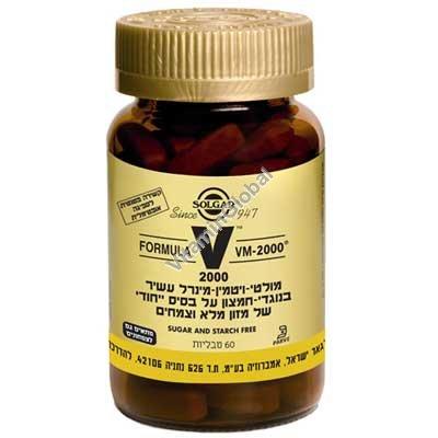 Мультивитамин VM-2000 60 таблеток - Солгар