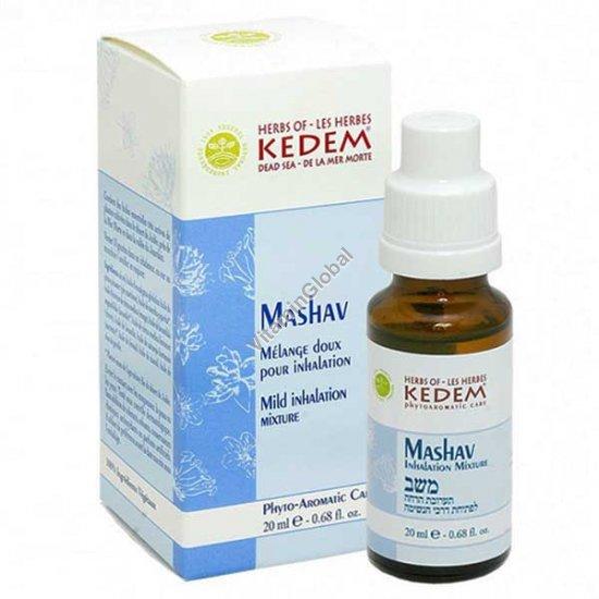 Машав - смесь масел для лечения насморка 20 мл - Травы Кедем