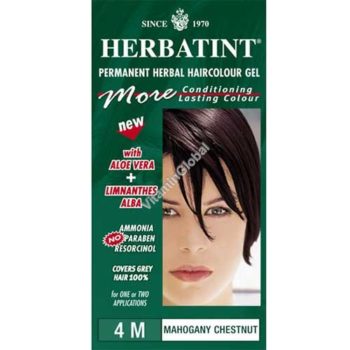 Каштановый с красным оттенком 4М - Herbatint