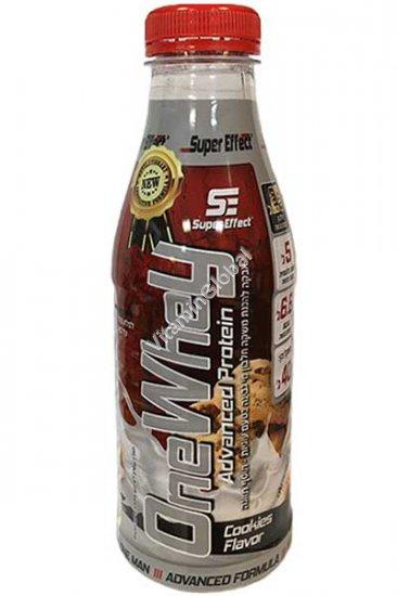 Сывороточный протеин со вкусом печенья 40 гр (1 порция в бутылочке) - Super Effect