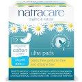 Натуральные прокладки с крылышками, супер 12 шт - Natracare
