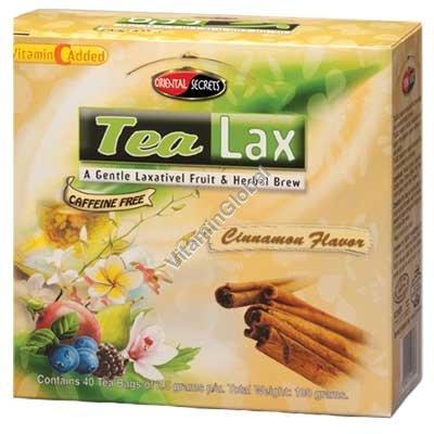Чай от запоров Тилакс со вкусом корицы 40 фильтр-пакетиков - Oriental Secrets