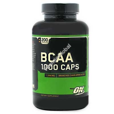 BCAA 1000 200 капсул - Optimum Nutrition
