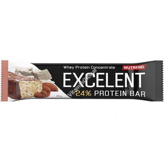 Протеиновый батончик со вкусом марципана и миндаля с покрытием молочным шоколадом 85 гр - Nutrend