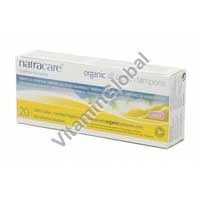 Гигиенические тампоны из органического хлопка - супер 20 шт - Natracare