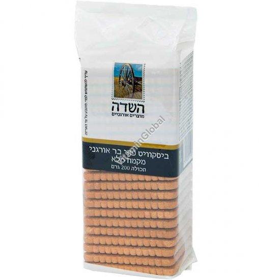 Органическое бисквитно-галетное печенье (Пети Бер) из цельной муки 200 гр - HaSade
