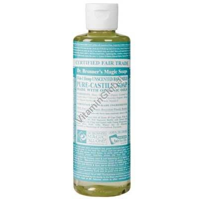 Натуральное жидкое мыло для детей и младенцев 472 мл - Dr. Bronner