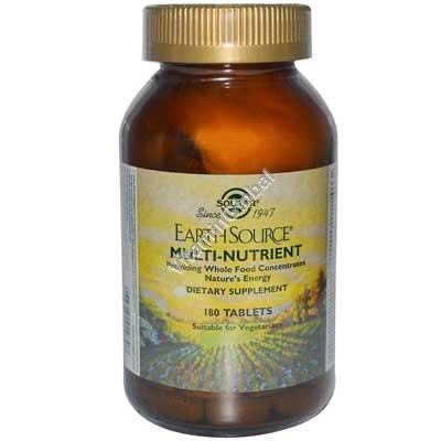 Мультивитамин Earth Source 180 таблеток - Сольгар