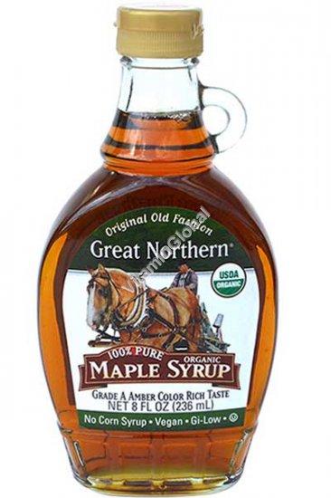 Органический кленовый сироп 236 мл - Great Northern