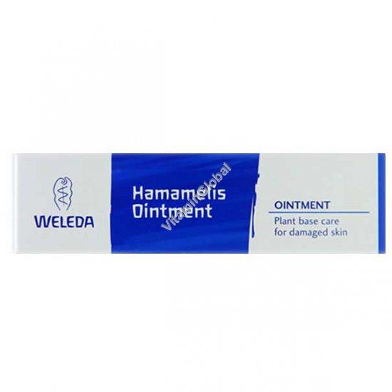 Мазь Гамамелис для лечения варикозного расширения вен и геморроя 25 гр - Веледа