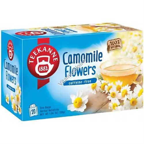 Чай из цветов ромашки 20 фильтр-пакетиков - Pompadour