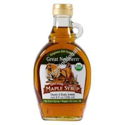 Органический кленовый сироп 310 гр - Great Northern