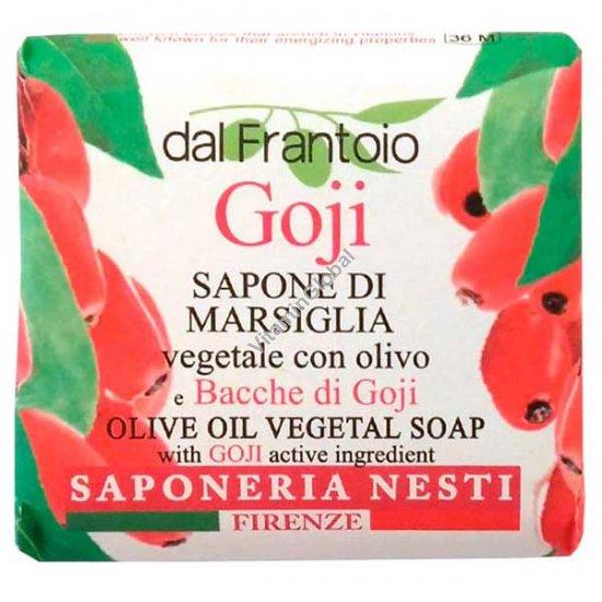 Растительное мыло из оливкового масла и экстракт ягод годжи 100 гр - Нести Данте