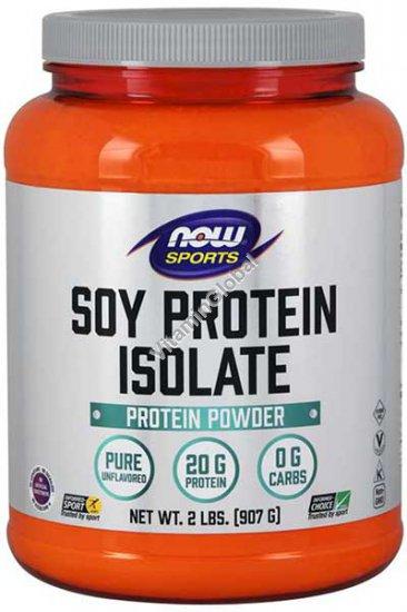 Соевый протеин изолят 907 гр - NOW Foods