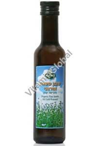 Органическое льняное масло холодного отжима 250 мл - Naturproducts