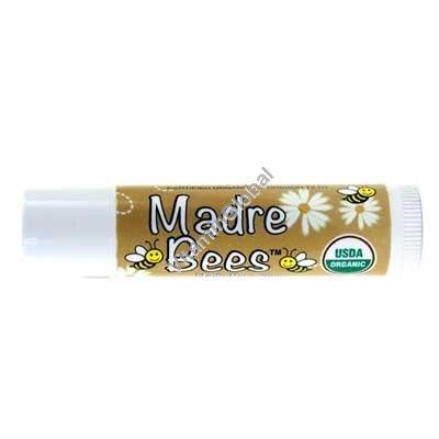 Органическая увлажняющая губная помада с маслом какао 4.25 гр - Madre Bees