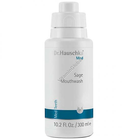 Вода для полоскания рта с шалфеем 300 мл - Dr. Hauschka