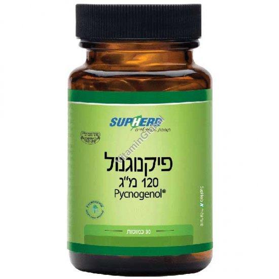 Пикногенол 120 мг 30 капсул - SupHerb