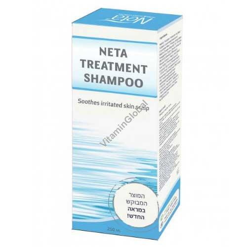 Лечебный шампунь для раздраженной кожи головы 250 мл - Нета