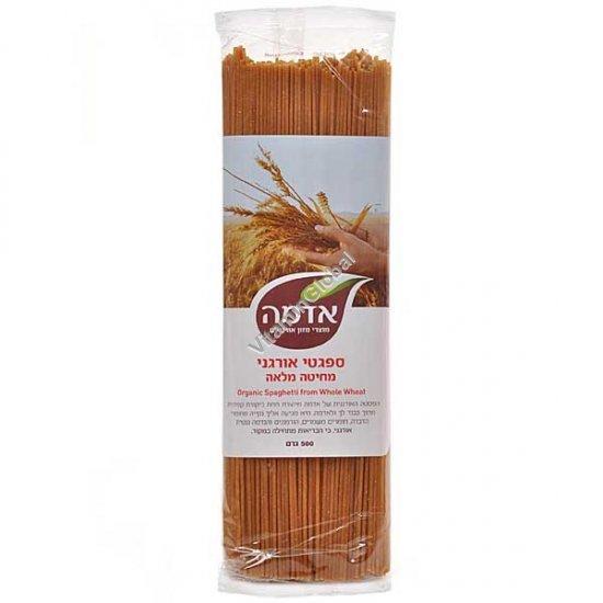 Органические спагетти из цельной муки 500 гр - Адама